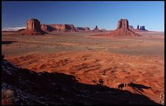 Artists Point, late afternoon (rickz) Tags: travel sunset wild arizona southwest west color beautiful landscape utah ut scenery grand az monumentvalley 2007 americansouthwest monumentvalleynavajotribalpark grandcircle gcrt2007d6 artistspoint