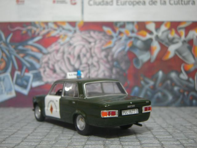 SEAT 124 D GUARDIA CIVIL