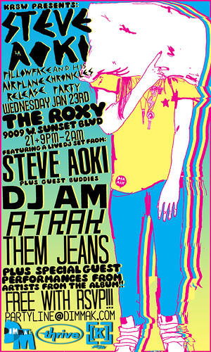 Steve Aoki - 1/23