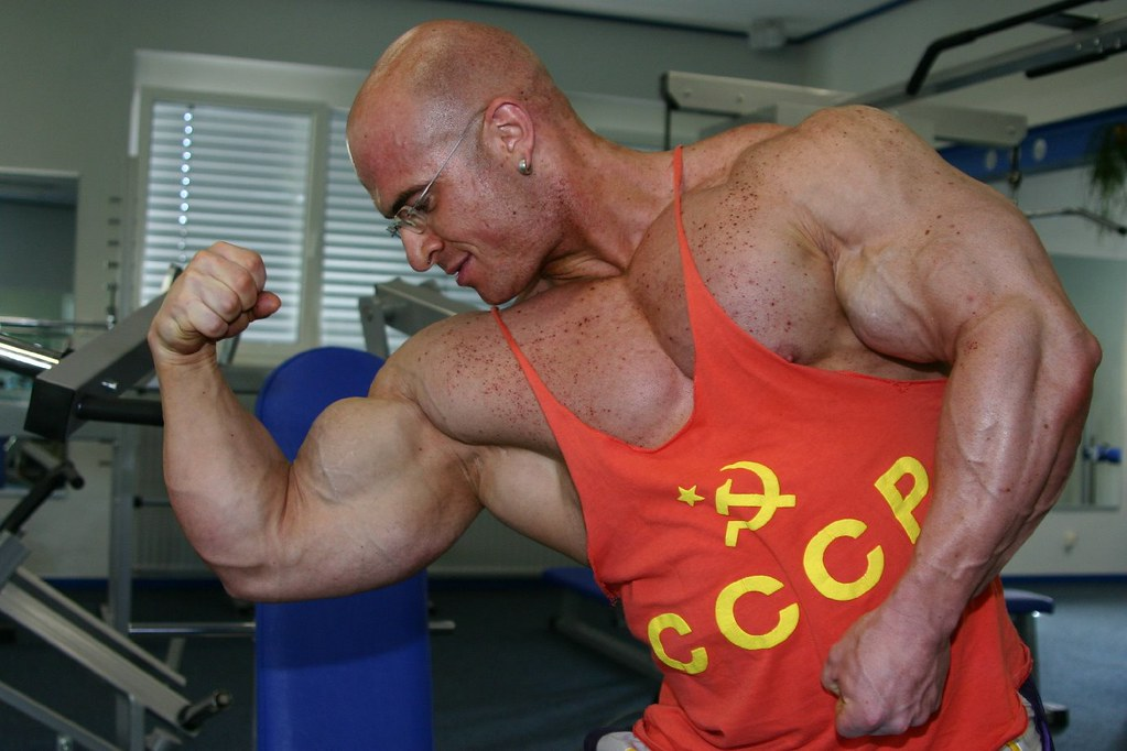 huge gay muscle