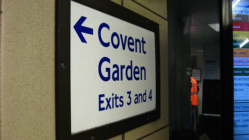 Covent Garden, Exits 3 and 4