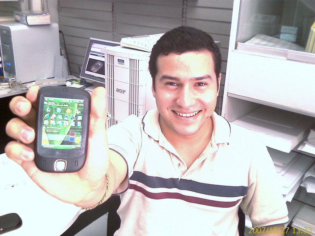 Ramon y HTC Touch