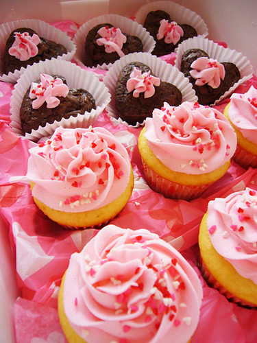 Valentine' s Day Cupcakes