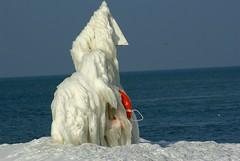 Life Ring (johncpiercy) Tags: ontario canada january 2008 stcatherines portdalhousie