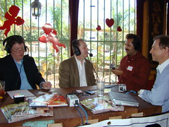 "Live Talk - Houston Business Show Live Broadcast at ""El Tiempo"" Restaurant (StealthMarketer) Tags: foxnews jennifercolon universityofhouston kevinprice mikealexander jimoneill andyvaladez stevelevine houstonneighborhoods marketingdynamics bauercollegeofbusiness houstonrealestatetoday carolebaker houstonbusinessshow houstonbusiness businessradio robbieadair donaldleonard virginiagrace joestiles johodell"