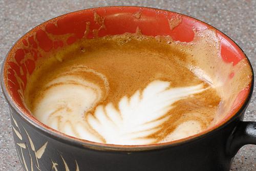 Half a latte
