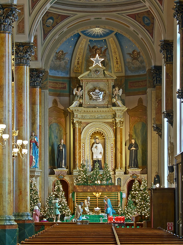 Saint Joseph Shrine, in Saint Louis, Missouri, USA - Jesuit altar