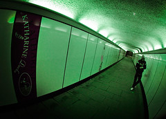 Dock tunnel (Spkennedy3000 - Architectural Photographer) Tags: lens fisheye russian zenitar innit