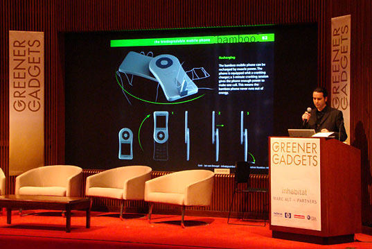Greener Gadgets Conference: Bamboo Phone