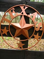 Texas star in Dolen, Texas, USA
