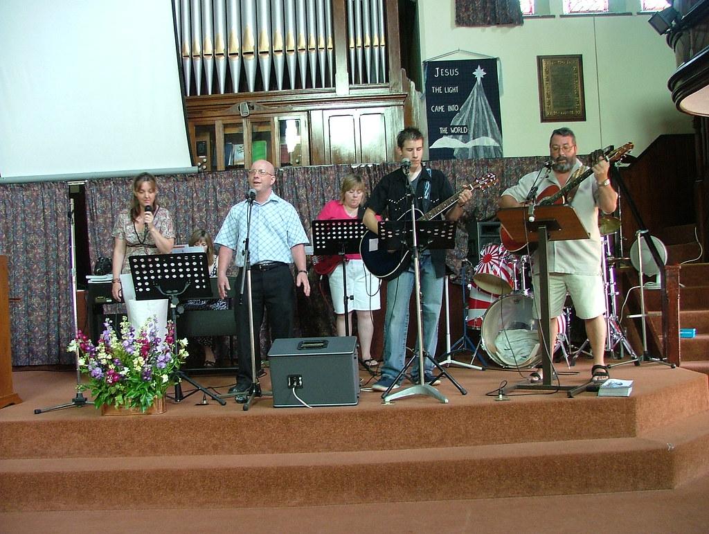 Worship Group Photo