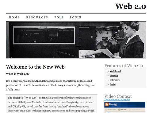 Image of UR Web 2.0?