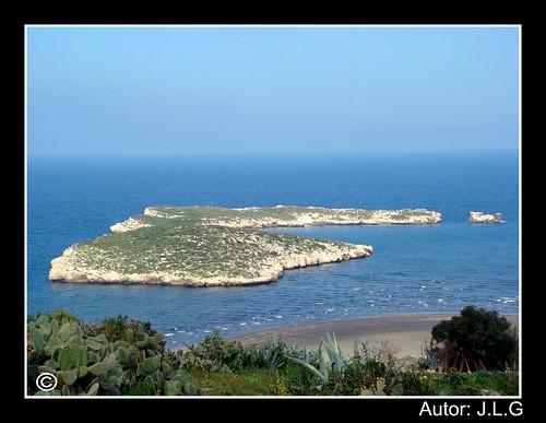 Isla de Tierra y de Mar, Islas Españolas frente a las costa Marroqui