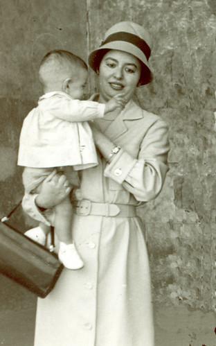 Loli con Quinito 1961