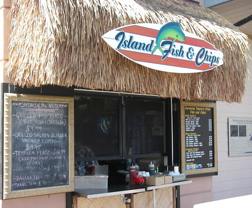 Island Fish & Chips - Good place for lunch and dinner on the Kohala Coast - Go Visit Hawaii