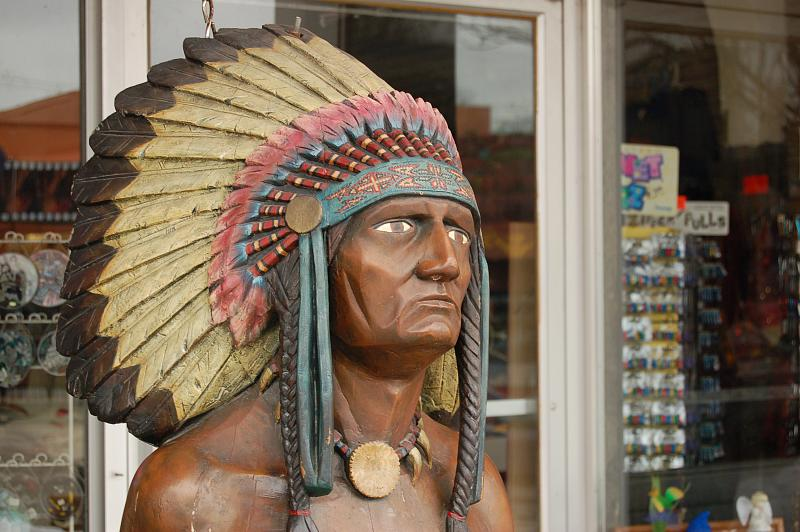 Cigar Store Inidan