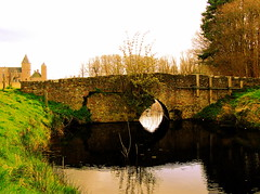 ROMAN BRIDGE (FOLLY) (Akbar Simonse) Tags: bridge holland castle netherlands estate thenetherlands zeeland brug folly kasteel domburg romanbridge blueribbonwinner landgoed oostkapelle westhove mandeling theperfectphotographer dedoka iamflickr 200000000stagelovers life~asiseeit likhangsining akbarsimonse flickrlovers
