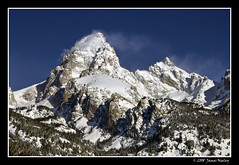 Still Winter Here! (James Neeley) Tags: winter snow mountains landscape grandtetons tetons hdr grandtetonnationalpark firstquality 5xp jamesneeley