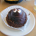 Dessert is so much better when it has a face. by s.eyre