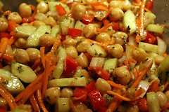 garbanzobeansalad