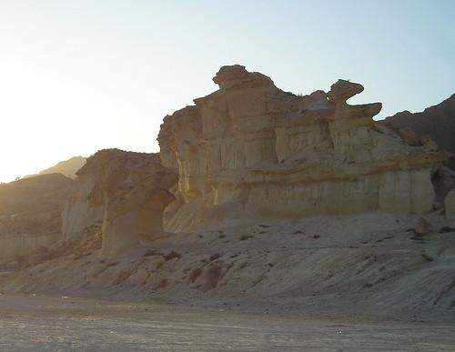 Bolnuevo y sus erosiones