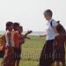 Nanci entertaining the children