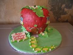 IMGP3015 (Angel cake26) Tags: house sign cake strawberry path shortcake ryleigh