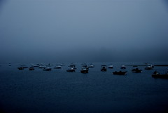 Early foggy morning on the harbor (ineedathis) Tags: fab foggy coldspringharbor platinumphoto