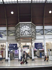 Clock on Paddington Station
