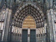 Cologne Cathedral door 1 (Gelinda) Tags: rhineriver europe2008 avalontapestrycruise