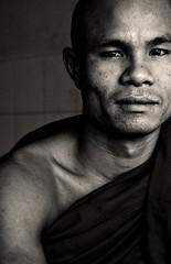 Eyes Of Contemplation, Burma (El-Branden Brazil) Tags: southeastasia buddha yangon burma buddhism monks myanmar burmese myanmarese