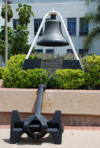 U.S.S. Los Angeles Ships Bell