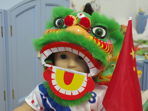 Lion Dancing at the Olympics!