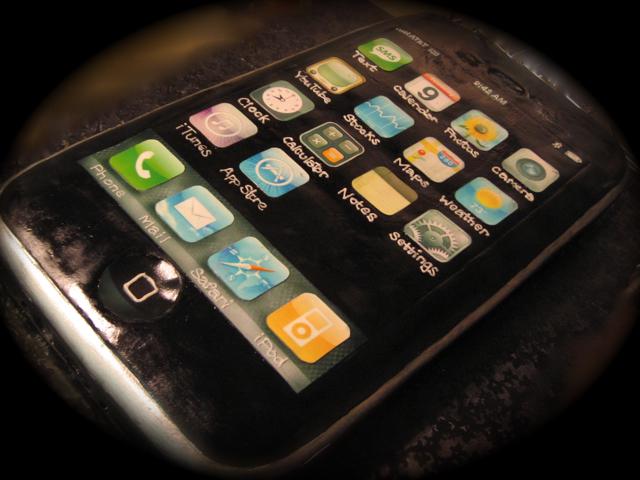 iphone3g cake
