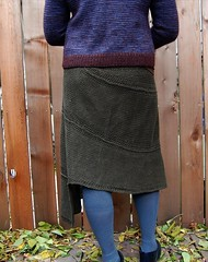 Perimeter skirt (cosmicpluto) Tags: design knitting skirt hemp perimeter november2008