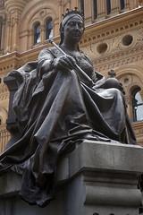 Sydney::Queen Victoria @ QVB (mike_s_etc) Tags: sydney australia nsw newsouthwales queenvictoria queenvictoriabuilding qvb