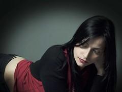 Anbeca marzo (M. Cabana) Tags: portrait mujer retrato olympus estudio zuiko belleza yamakiro