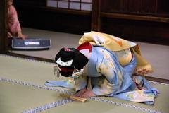 Maiko Naokazu (September_Okayama) Tags: portrait music beauty japan garden temple japanese dance kyoto pentax performance maiko geiko geisha  tamron   kamishichiken  naokazu