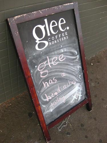 Glee Roasters Darby Street