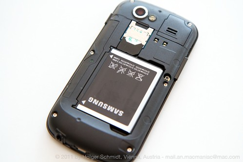 Nexus S ohne Rückenplatte