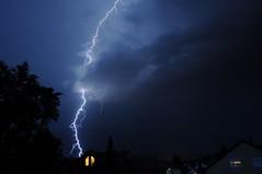 Thunderstorm (Sabie70) Tags: sky night thunderstorm lightning blitz gewitter nachthimmel