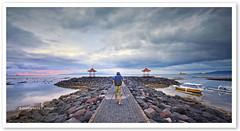 Candi Dasa Beach, Bali (TOONMAN_blchin) Tags: bali sunrise candidasabeach toonman mygearandme mygearandmepremium mygearandmebronze mygearandmesilver flickrstruereflection1