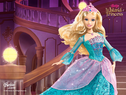 Barbie as the Island Princess Poster