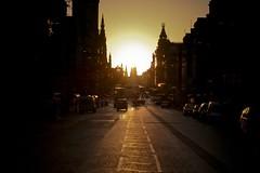 Princes St (marcusjroberts) Tags: sunset edinburgh portfolio princesst
