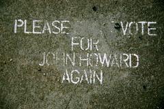 irony - vandalised