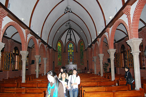 Interior, Yakhyeon Catholic Church 1
