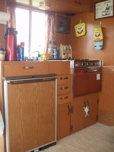 The Ultravan Kitchenette