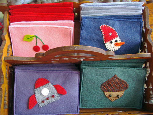 Assorted Felt Envelopes