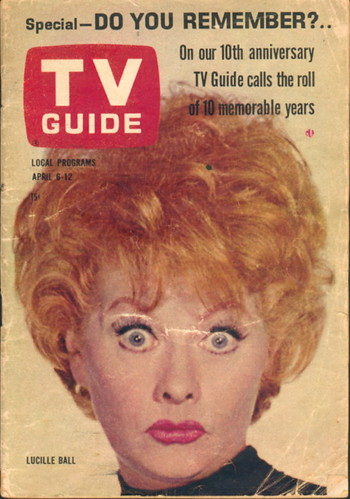 Tv Guia Lucille Ball Show de Lucy