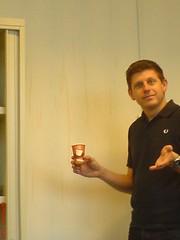Coffee on the wall (hansco) Tags: coffee wall splash spill spilled 386 bartvandertang